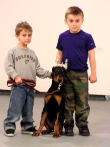 Max & Christian With Diesel