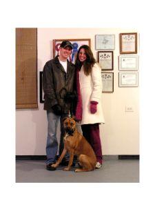 Ed & Trisha With Zulie