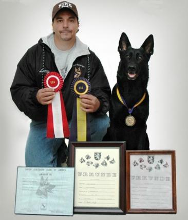 Anja - Schutzhund III
